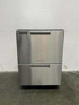 """Fisher & Paykel DD24DCTX9 Stainless Steel 24"""" Double DishDra"""