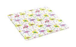 flamingo cutting board