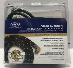 FPS Industrial Grade Braided 6' Hose + Cord Complete Dishwas