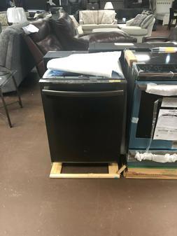"GE GDT695SBLTS 24"" Black Stainless Fully Integrated Dishwash"