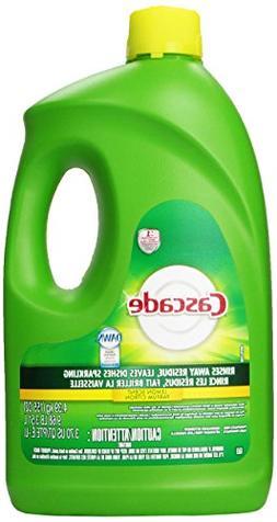 Cascade Gel Dishwasher Detergent Lemon Scent, 155 Oz