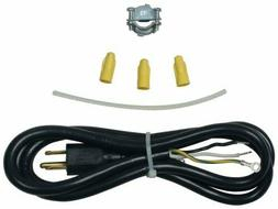 genuine 4317824 dishwasher power cord kit 4