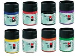 Glass Stain Paint 50 ml Transparent Colors Dishwasher-safe ~