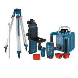 Bosch Self-Leveling Rotary Laser with Layout Beam Kit with R