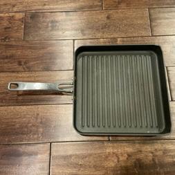 Calphalon Hard-Anodized Nonstick 11 inch Square Grill Pan, E