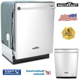 """Thor kitchen HDW2401SS 24"""" Stand Alone Built-In Dishwasher i"""