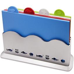 Index Cutting Board Set   Color Coded Cutting Board Set with