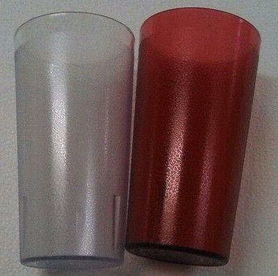 1 8 Oz Restaurant CLEAR Plastic Dishwasher Safe