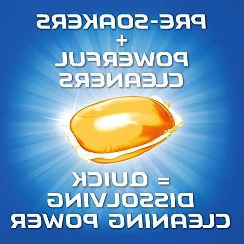 Finish All Gelpacs Orange, Dishwasher Detergent