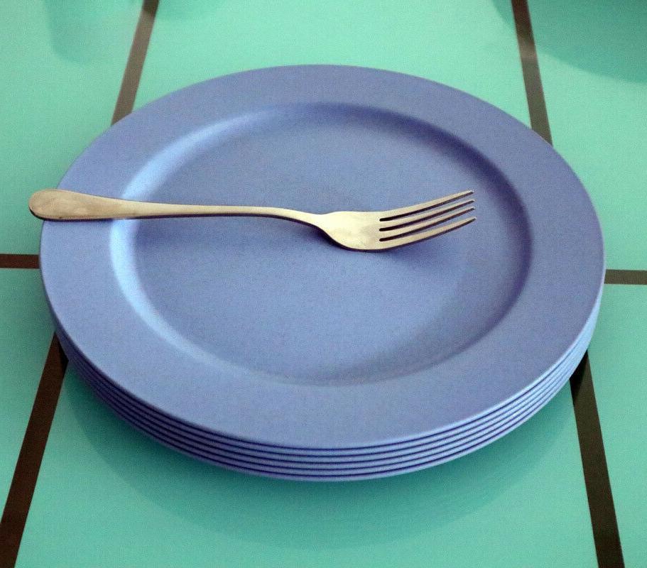 Greenandlife Microwave Safe Wheat Dinner Plates