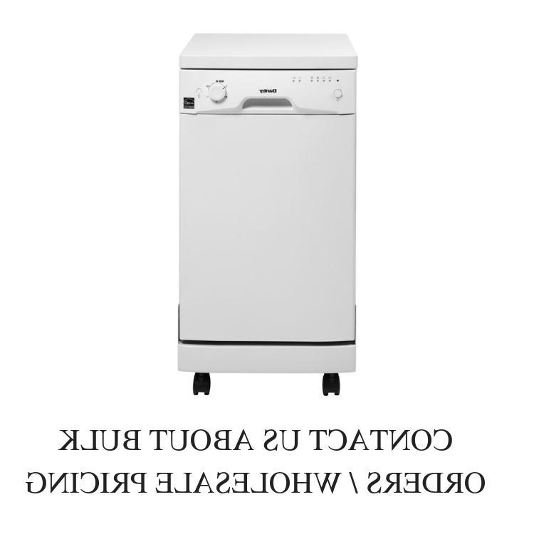 ddw1801mwp 18 white full console portable dishwasher