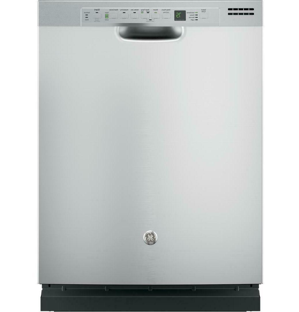 24 full console dishwasher ss gdf610psjss