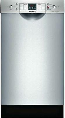 "Bosch 300 Series 18"" Recessed handle 46 dBA Built-In-Dishwas"