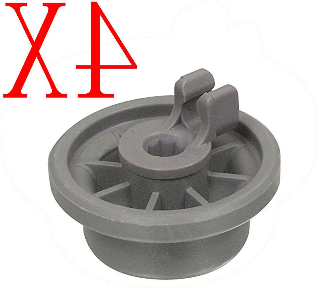 4X Dishwasher Lower Rack Wheel For Hotpoint C00210742 180131