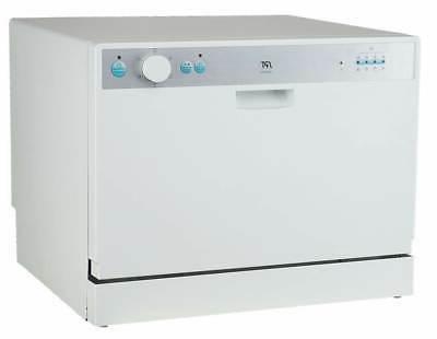 SPT White Countertop Dishwasher Delay