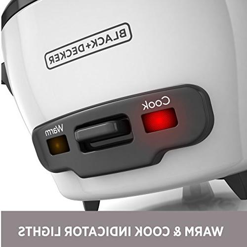 BLACK+DECKER Uncooked Rice Cooker, Value Not Found