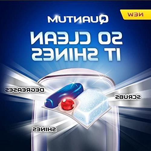 Finish Quantum Detergent Powerball, Ultimate Clean Shine Dishwashing Count