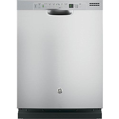 "Ge - 24"" Front Control Tall Tub Built-in Dishwasher - Stainl"