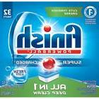 Finish All In 1 Powerball Fresh 32 Tabs Automatic Dishwasher