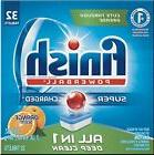 Finish All In 1 Powerball, Orange 32 Tabs, Dishwasher Deterg