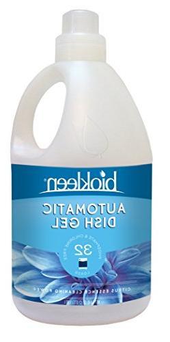 Biokleen Automatic Dishwashing Liquid Detergent Gel, Concent