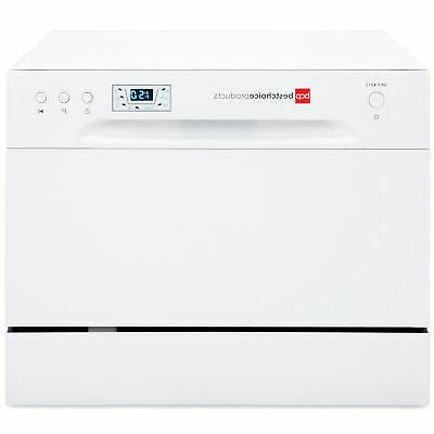 BCP Dishwasher Setting Compact Design - White