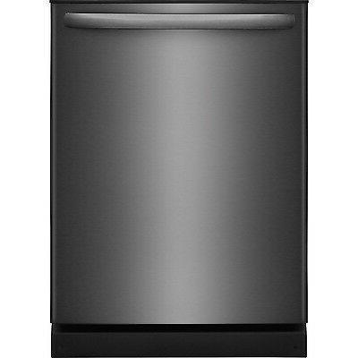 """Frigidaire Black Stainless 24"""" Dishwasher Orbit Clean Wash A"""