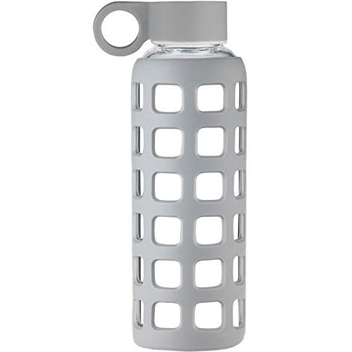 bpa borosilicate glass water bottle