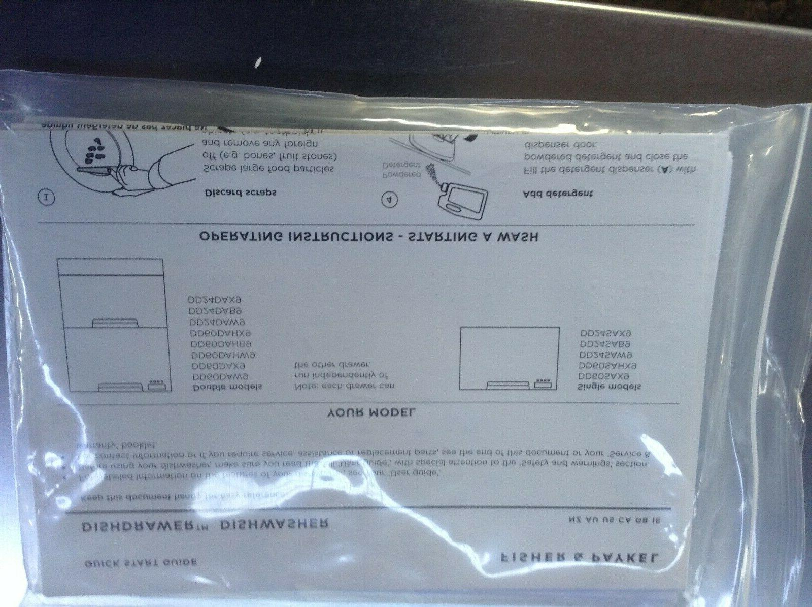 Brand New & Paykel Console Dishwasher