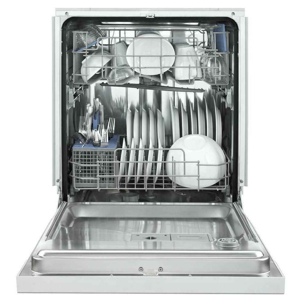 Control Built-In Tall Tub Dishwasher/White