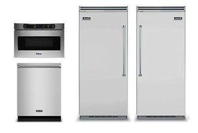 """Viking Built-in 36"""" All Refrigerator &  All Freezer FREE Dis"""