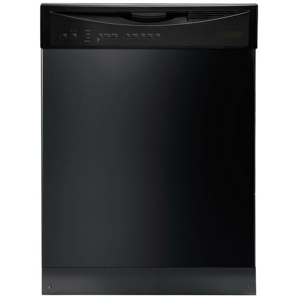 built in dishwasher black