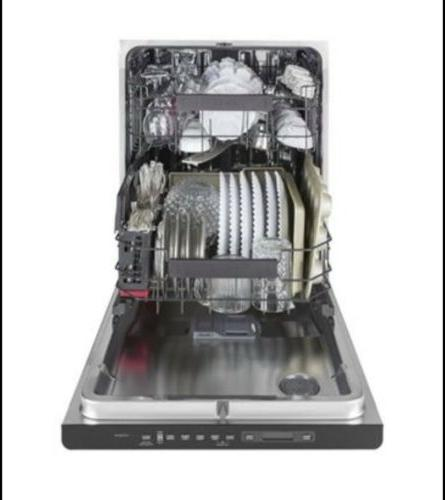 GE CDT836P2MS1 Interior Built-In Dishwasher with Hidden Controls