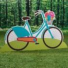 CAMP GLAM BIKE STANDEE * camping theme party decorations * s