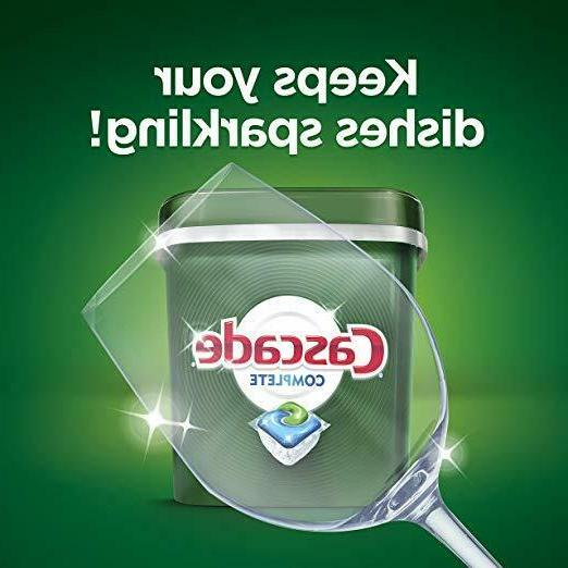 Cascade Complete ActionPacs Dishwasher Detergent Cleaner Fresh Scent