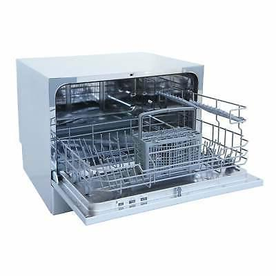 Compact 6 Cycle Stainless Portable Kicthen Countertop