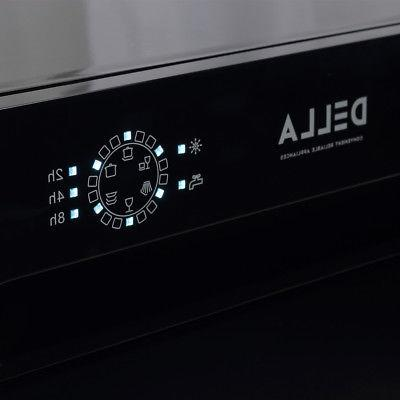 Compact Dishwasher 6 Settings, Black