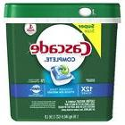 complete actionpacs dishwasher detergent fresh scent 78
