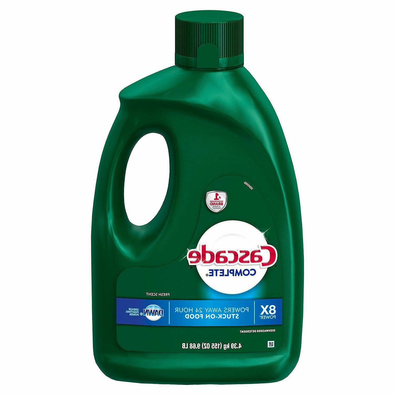 Cascade Complete Dishwasher Detergent,