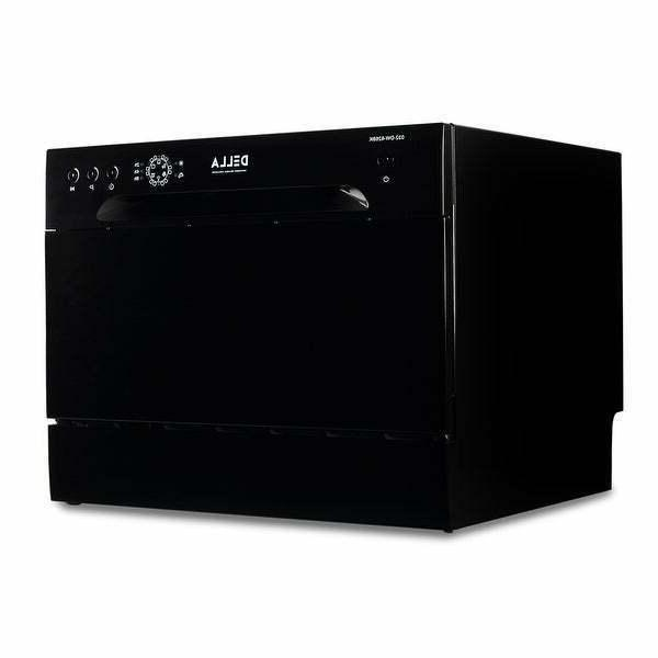 countertop dishwasher portable compact black