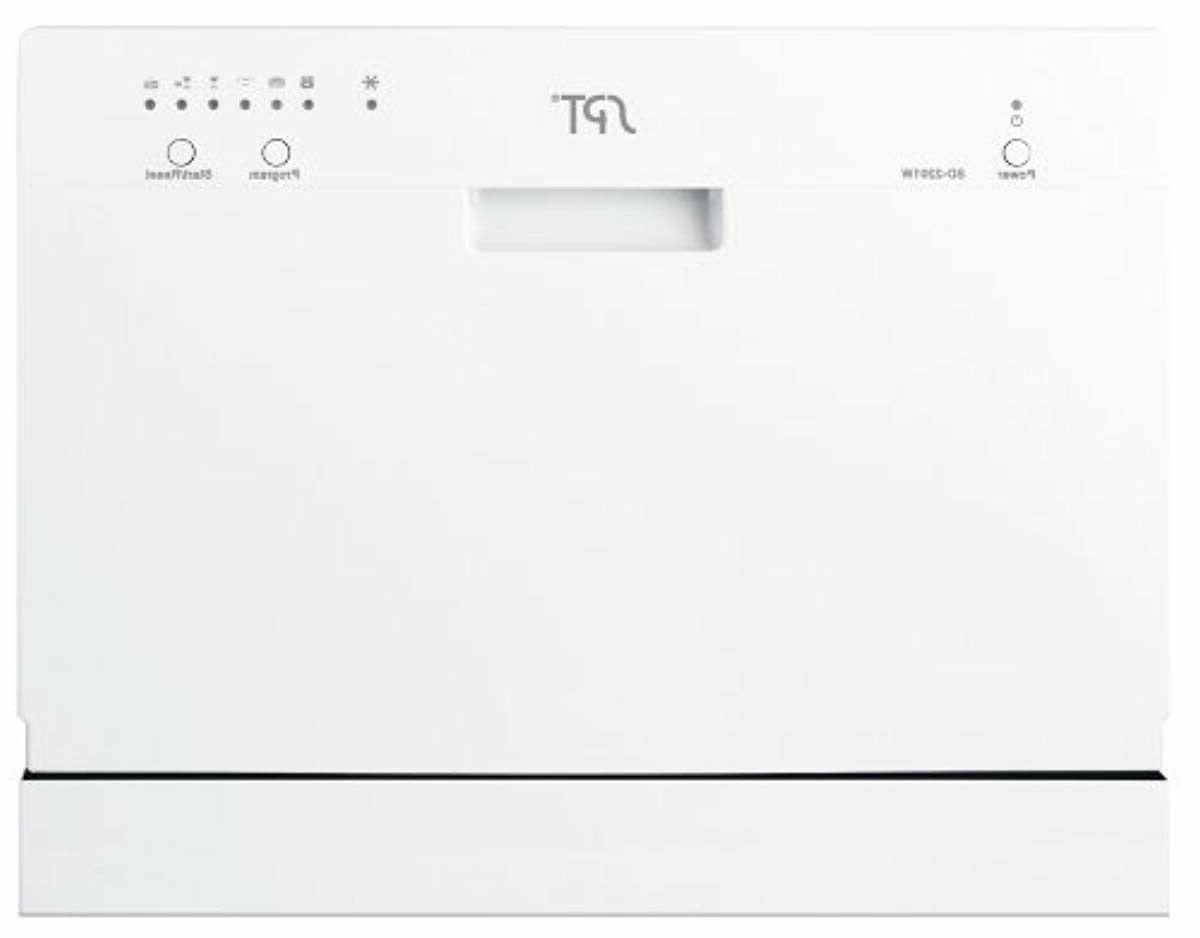 countertop dishwasher white by