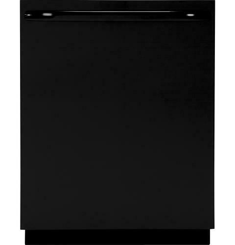 deluxe stainless steel interior black color dishwasher