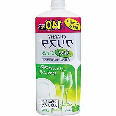 detergent charmy christa deodorant gel dishwasher refill