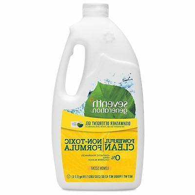 dishwasher detergent gel lemon scent 42 oz