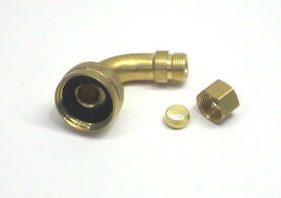 Dishwasher Water Valve with Adapater for Whirlpool