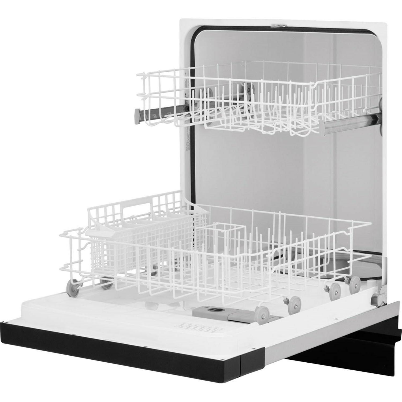 Frigidaire FBD2400KW White Built In Dishwasher, Tall-tub design, Delay