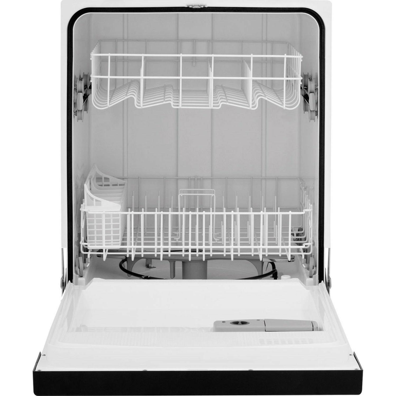 "Frigidaire White 24"" Built Dishwasher, design, Start"