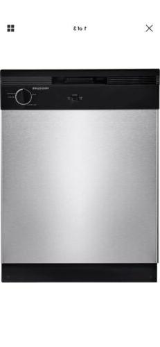 "Frigidaire FBD2400KS 24"" Built In Full Console Dishwasher St"
