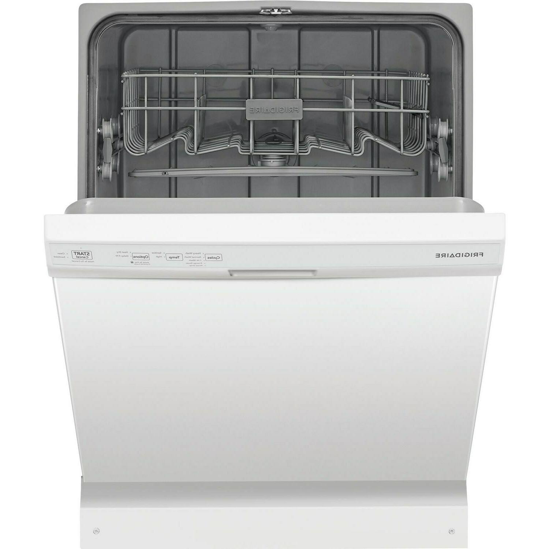 Frigidaire FFCD2418UW Built-In Dishwasher, 5 55