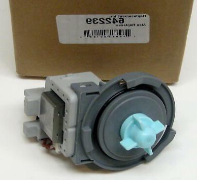 front load washer drain pump